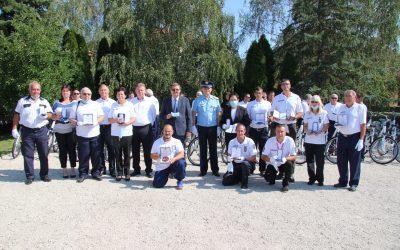 A megye polgárőrei Csépen tartották idei közgyűlésüket