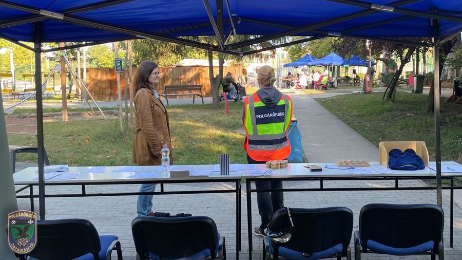 Tatabányai Polgárőrség Önvédelmi Egyesület szeptemberi szolgálatai